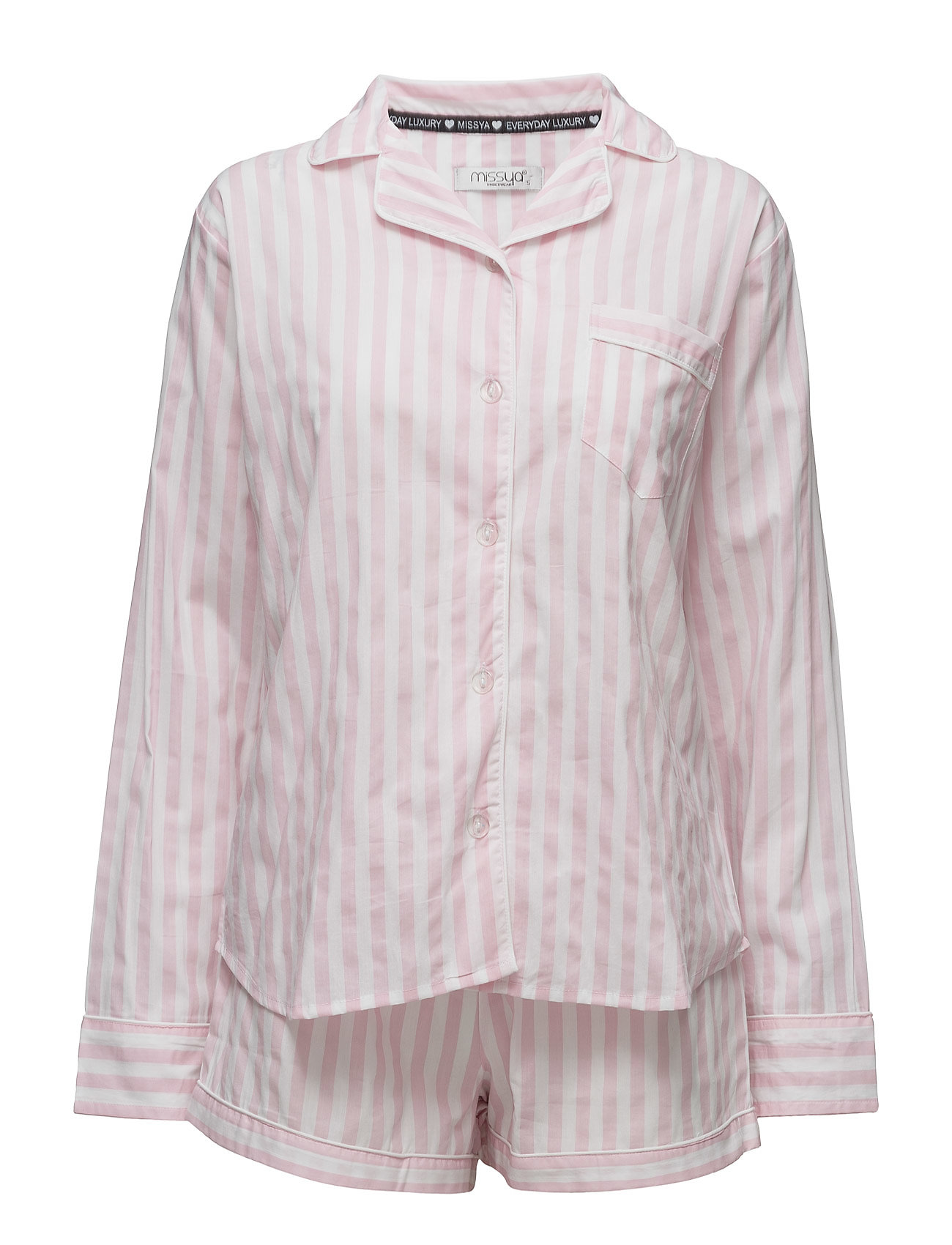 353824806cdd Raya Pyjamas W. Shorts Missya Nattøj til Kvinder i Stripes