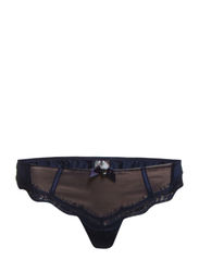 Babette string - Dark blue