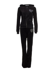 Bejse velour set - Black