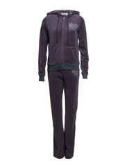 Bejse velour set - Dark blue