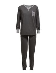 Beatrice Homewear - Charcoal grey melange