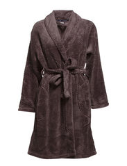 Betsy Robe fleece - Purple / Black