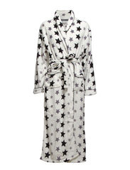 Nandi robe fleece long - Star print