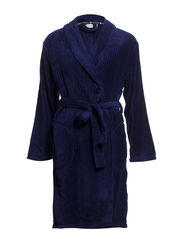 Temple robe fleece short - Dark blue