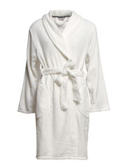 Temple robe fleece short - Ivory