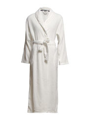 Temple robe fleece long - Ivory