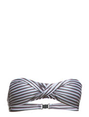 Malibu bando fill - Grey/white/silver stripes