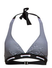 Hawaii top fill - Black/white stripes