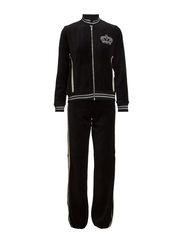 Soffy velour set - Black