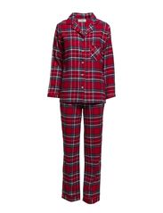 Bell pyjamas flannel - Red check