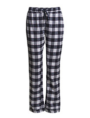 Bell pyjamas flannel/jersey - Blue check