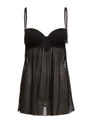 Daisy Night dress - Black