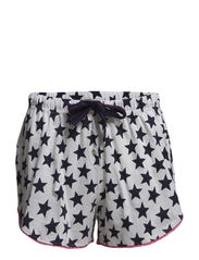 Ellis shorts - Ivory with blue stars