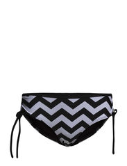 Michigan hipster - Black / white zig zag