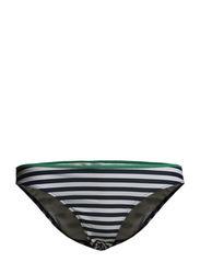 Sevilla tai - Stripes with green contrast