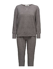 Tina pyjamas - GREY/BLACK