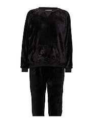 Tula fleece homewear set - BLACK