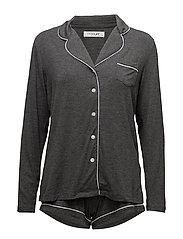 Tilda pyjamas with shorts - DARK GREY MELANGE