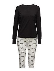 Tara pyjamas - CHEETAH PRINT