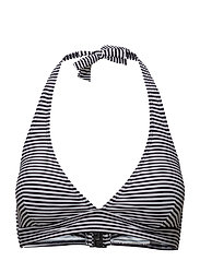 Michigan top - BLACK/WHITE STRIPES