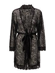 Tatum kimono - BLACK