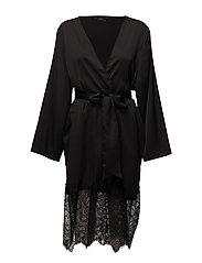 Saint fé kimono - BLACK