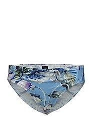Audrey tai - BLUE FLOWER PRINT