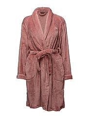 Reba robe short - PURE ROSE