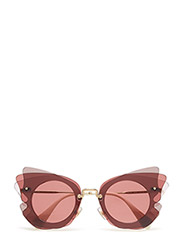 Cat eye - DARK BROWN/PINK
