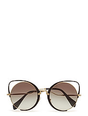 WOMEN'S SUNGLASSES - PALE GOLD/BLACK