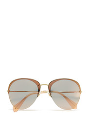 CORE COLLECTION   SO FRAME - PALE GOLD/GREY MIRROR ROSE GOLD