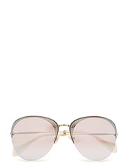 CORE COLLECTION | SO FRAME - PALE GOLD/PINK MIRROR WHITE