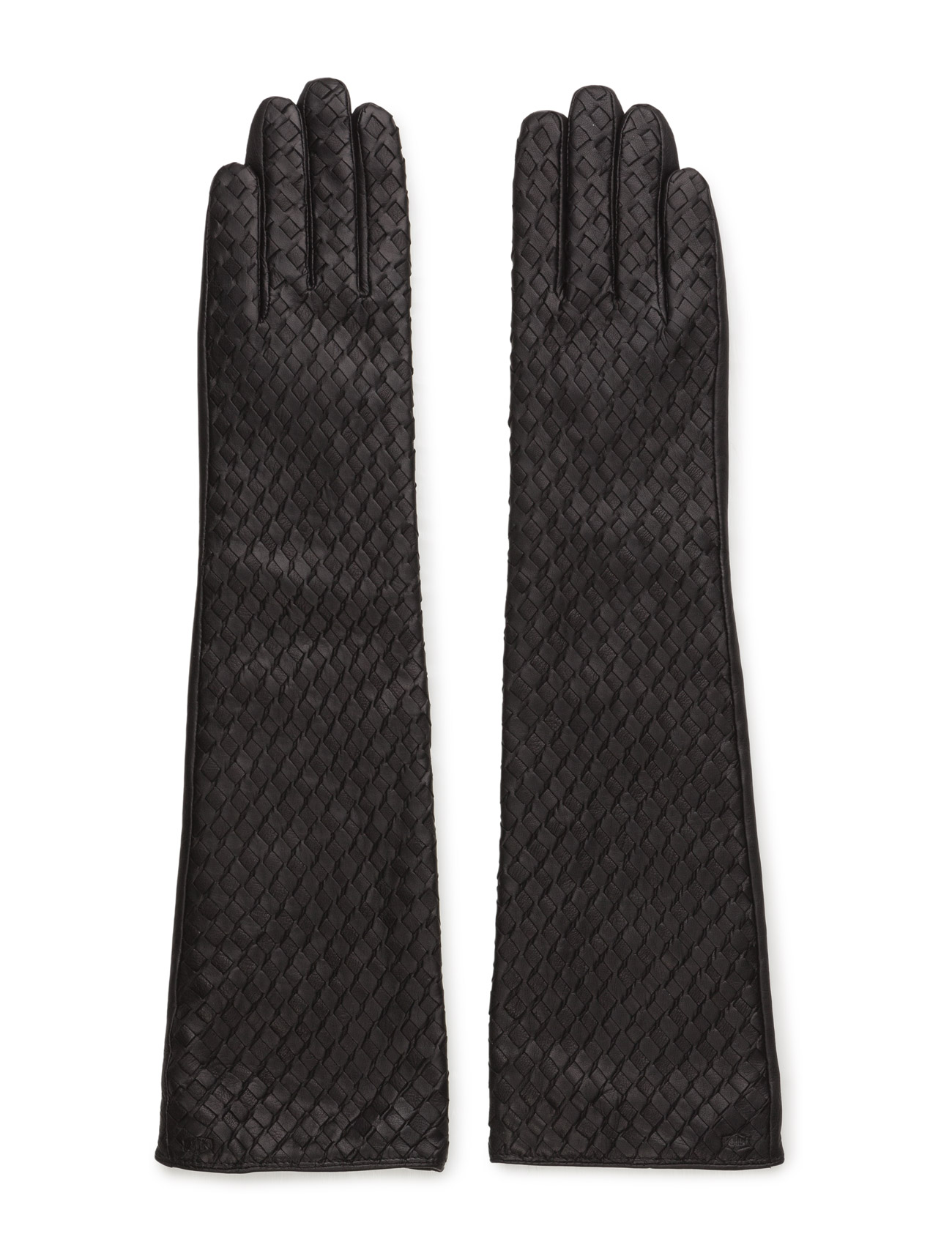 Mjm Glove Sophi Long Leather Black MJM Handsker til Kvinder i Sort