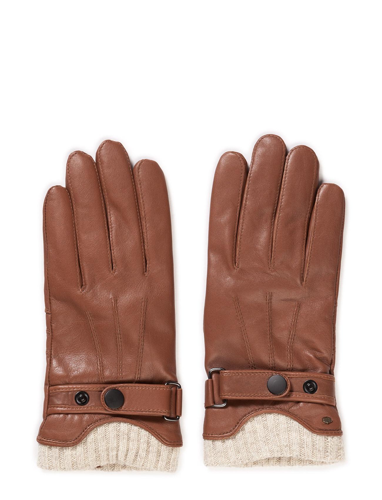 Mjm Glove Ralph Leather Black MJM Handsker til Herrer i cognac