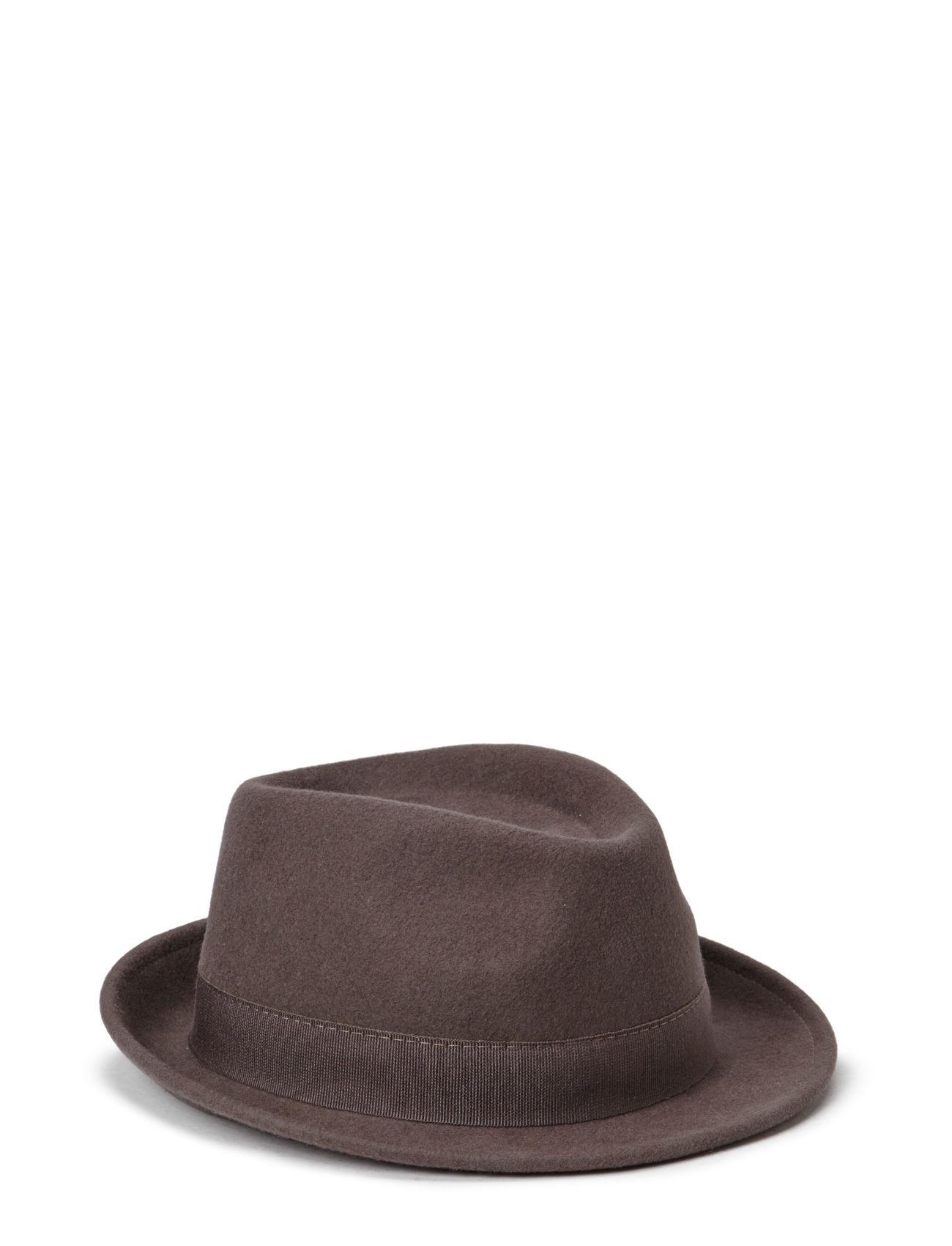 Mjm Snap Wool Felt Anthracite MJM Hatte & Caps til Herrer i Antracit grå