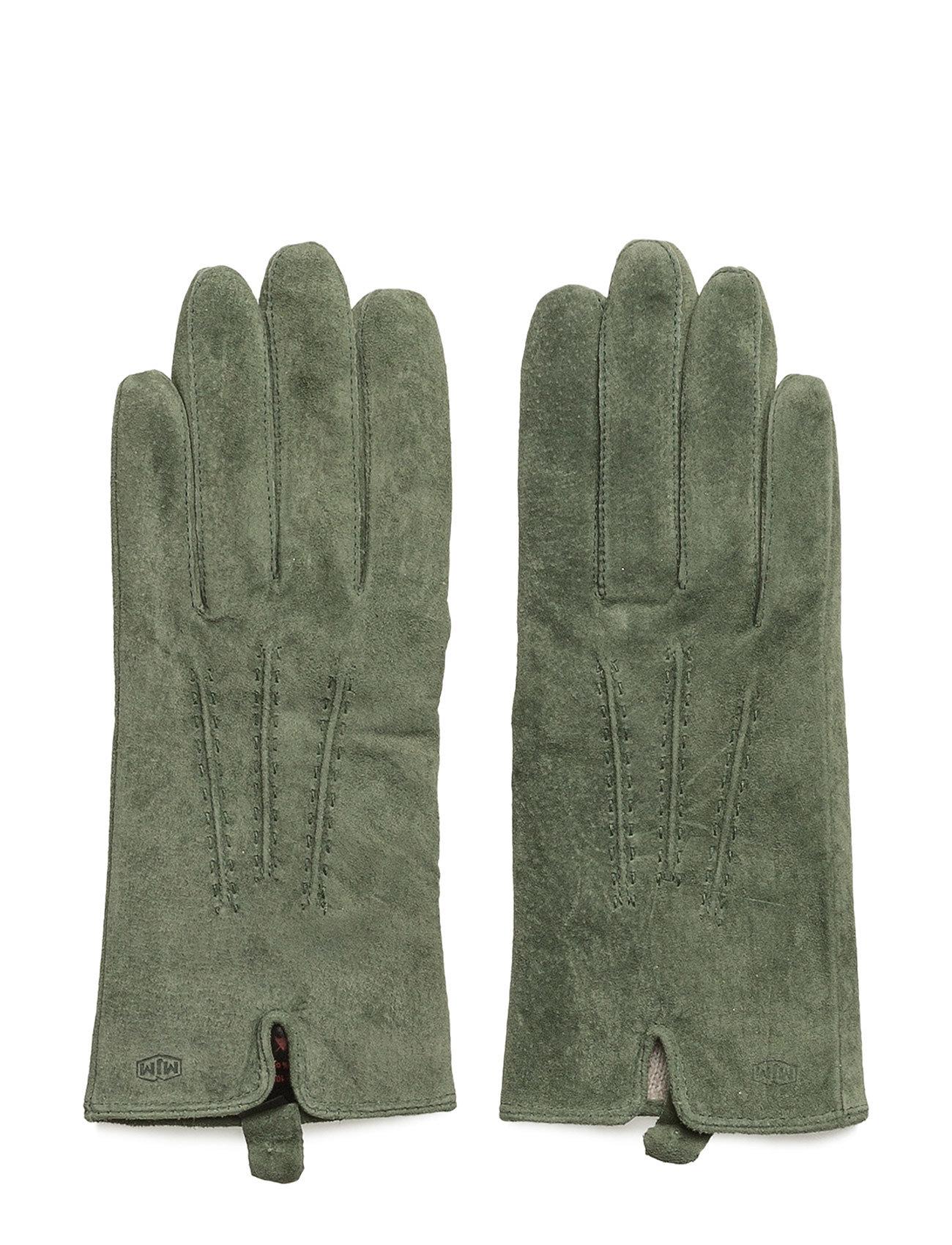 Mjm Glove Lotus W Suede Black MJM Handsker til Damer i