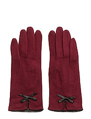MJM Glove Linsey - BURGUNDY