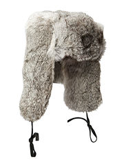 Fur hat TH900 Rabbit - Grey