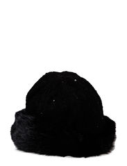 MJM Zoe Paillet/Faux Fur Off - Black