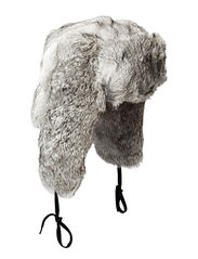 Fur hat TH900 W Rabbit - Grey