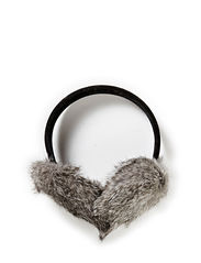 Earmuff W Rabbit - Grey