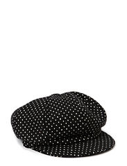 Hat Luna W Wool Mix - Black/White