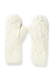 Mitten Cable Knit - Off White