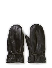 MJM Mitten 5 fingers Leather - Black