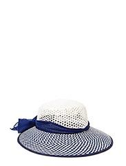 MJM Lucille W Toyo White/Blue - White/Navy
