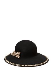 Hat Carmen W Wool Felt - Black