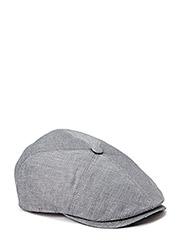 MJM Rebel Linen/Cotton Grey Heeringbone - Grey Heeringbone