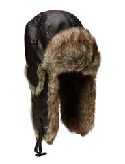 MJM Alaska Faux Leather/Faux Fur - Brown/Natural