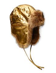 MJM Venus Faux leather/Faux Fur - Gold/Natural
