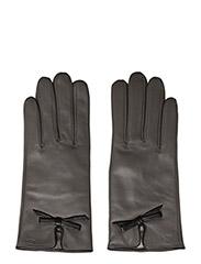 MJM Glove Olivia W Leather Anthracite/Black - ANTHRACITE/BLACK